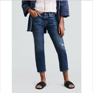 LEVI'S MADE & CRAFTED JODI SLIM CROP JEANS NWT 29